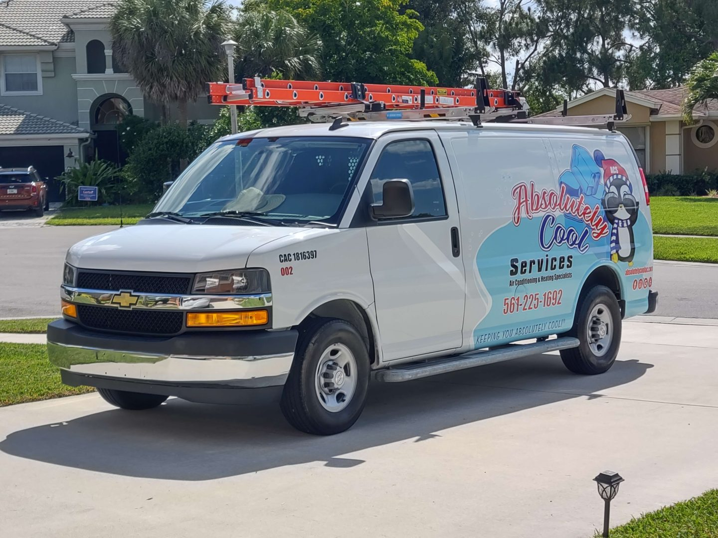 absolutely_cool_van - Heating and Air Conditioning Services for West Palm Beach and Broward Counties